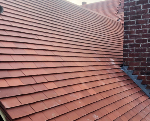 New Slate Roof And Extension Marcher Roofing